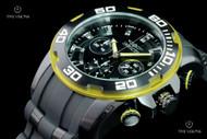 Invicta Men's 50mm Pro Diver Quartz Chronograph Silicone Strap Watch - 22309