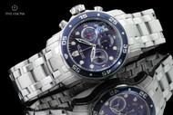 Invicta Men's 48mm Pro Diver Scuba Blue Dial Quartz Chronograph Bracelet Watch - 21921