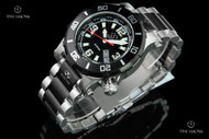 Reactor 41mm Atlas Black Dial 2-tone Black & Silver Stainless Steel Bracelet Watch - 45501