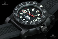 Reactor 42mm Gryphon Black Dial Strap Watch with Never Dark Technology & 10 Year Power Cell - 73801