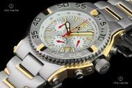 Reactor 40mm Critical Mass Quartz Chronograph 2-tone Bracelet Watch - 75102