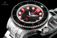 Invicta 47mm Grand Diver Generation II Black & Red Automatic Stainless Steel Bracelet Watch - 19798