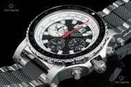 Reactor 49.25mm Valkyrie Signature Limited Edition E6B Slide Rule Bezel Chronograph Interchangeable Strap Watch - 81951
