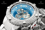Invicta Men's 52mm Subaqua Noma VI Caribbean Blue Dial Swiss Master Calendar Chronograph Bracelet Watch  - 21674
