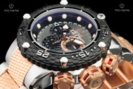 Invicta Men's 52mm Subaqua Noma VI Rose Gold and Stainless Swiss Master Calendar Chronograph Bracelet Watch  - 21675