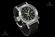 Invicta Men's I-Force 52mm Black Dial Quartz Leather Strap Watch - 14639