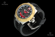 Invicta 45mm Mid-Size Subaqua Sport Swiss Made Carbon Fiber Dial Strap Watch - 10883