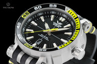 Vostok-Europe 49mm Energia Titanium Case Automatic with 17 Tritium Tubes, Extra Strap and Large Dry Box - NH35A-575H283