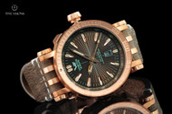 Vostok-Europe 49mm Energia Bronze Case Automatic with 17 Tritium Tubes, Extra Strap and Large Dry Box - NH35A-575O285