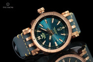 Vostok-Europe 49mm Energia Bronze Case Automatic with 17 Tritium Tubes, Extra Strap and Large Dry Box - NH35A-575O286
