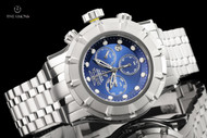 Invicta Men's 54mm S1 Rally Blue Dial Chronograph Stainless Steel Bracelet Watch - 23952