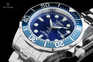 Invicta Men's 47mm Grand Diver Blue Dial Automatic Stainless Steel Bracelet Watch - 16036