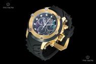 Invicta Men's 52mm Specialty Subaqua Chronograph Silicone Strap Watch w Elevated Bezel & Carbon Fiber Sides - 23929