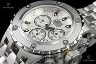 Invicta Men's 52mm Specialty Subaqua Guilloché Style Dial Quartz Chronograph Bracelet Watch - 23918