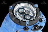 Invicta Men's 50mm Subaqua Noma III Anatomic Translucent Dial Translucent Silicone Strap Quartz Chronograph Watch - 24366