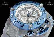Invicta Men's 50mm Subaqua Anatomic Translucent Dial Translucent Silicone Strap Quartz Chronograph Watch - 24371