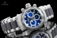 Invicta Men's 46mm Specialty Capsule Blue Dial Quartz Chronograph Bracelet Watch - 23975