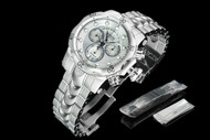 Invicta Men's 53.7mm Reserve Venom Swiss Quartz Chronograph Watch w Interchangeable Strap System - 1537