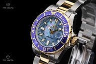 Invicta Women's 30mm Pro Diver Abyss MOP Dial Two-Tone Bracelet Watch - 2961