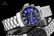Invicta Men's 46mm I-Force Lefty Radiant Blue Dial Chronograph Bracelet Watch - 14957