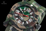 Reactor 42mm Gryphon Jungle Camo Strap Watch with Never Dark Technology & 10 Year Power Cell - 73824