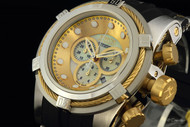 Invicta Reserve Bolt Zeus Chronograph Mother-of-Pearl Dial Strap Watch - 0828