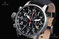 Invicta Men's 46mm I Force Black Dial Quartz Chronograph Strap Watch - 1512