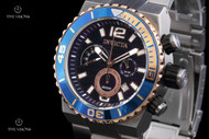 Invicta Men's Pro Diver Chronograph Stainless Steel Bracelet Watch - 12996