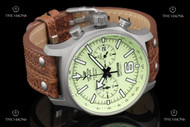 Vostok-Europe Expedition North Pole I Titanium Case Full Lume Dial Leather Strap Chronograph Watch - 6S21-5957241