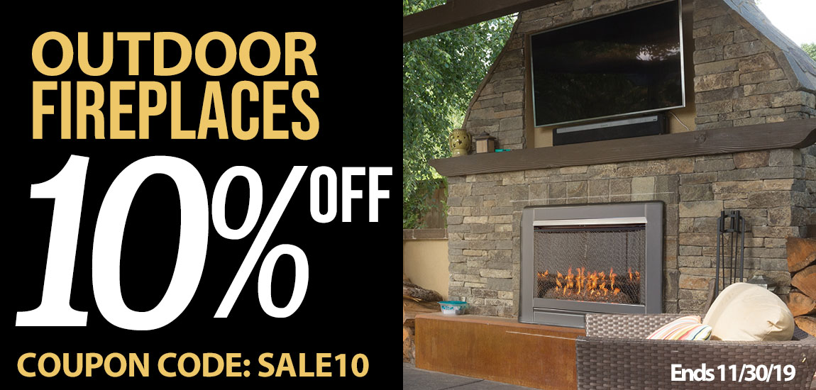 Outdoor Fireplace Sale