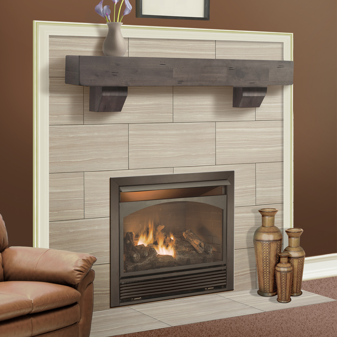 Duluth Forge Dual Fuel Ventless Fireplace Insert 32 000 Btu