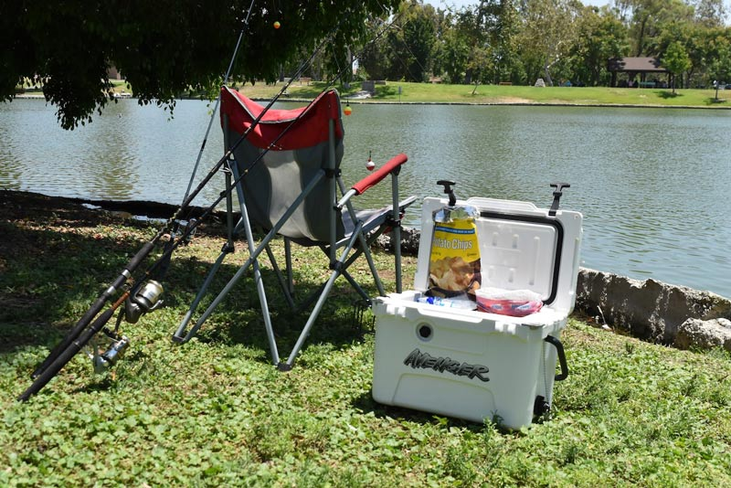 Avenger Coolers are great for fishing