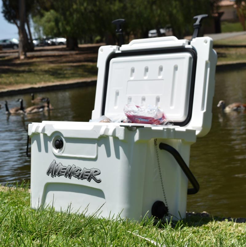 Avenger Coolers are great for camping
