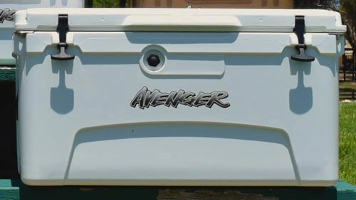 Avenger coolers for Salmon Fishing