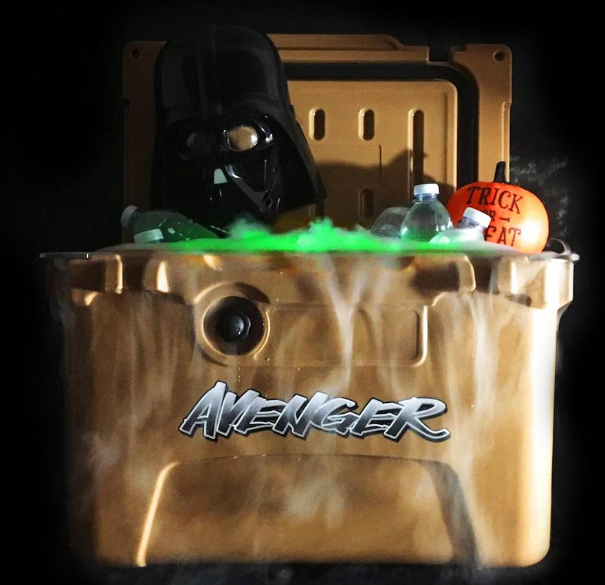 Avenger Coolers for Halloween party