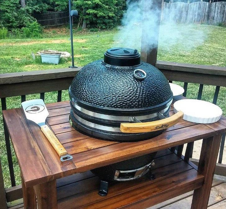 Grill up some tri-tip ahead of time on a Duluth Forge Kamado Grill
