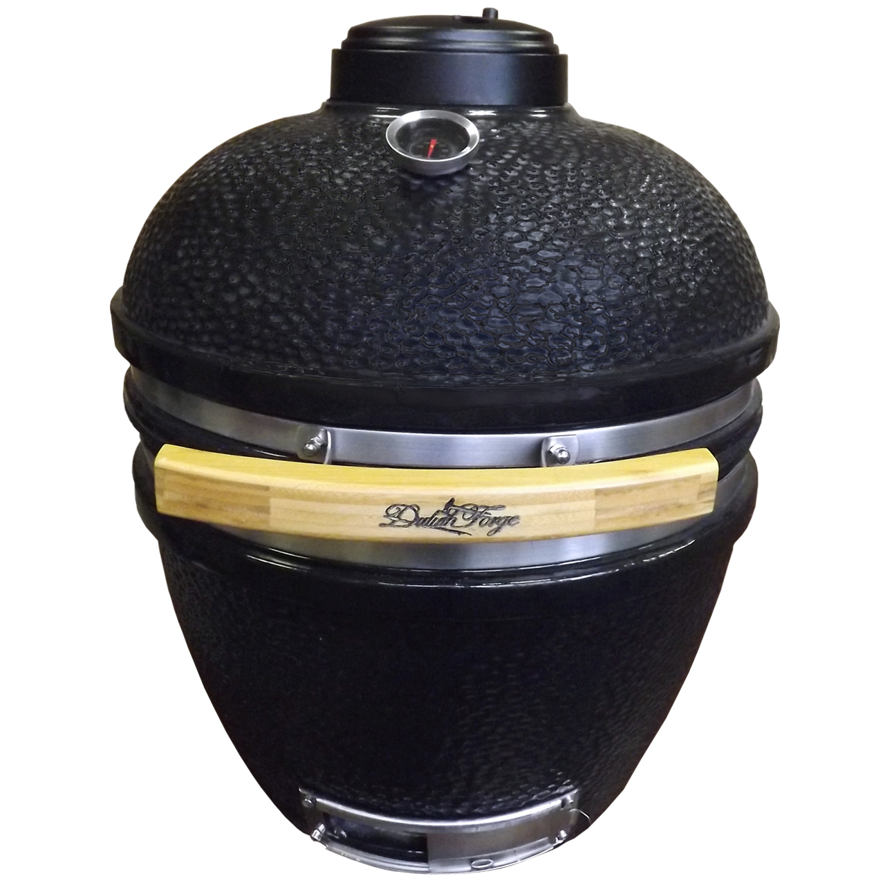 Duluth Forge Ceramic Charcoal Kamado Grill and Smoker - Medium Model