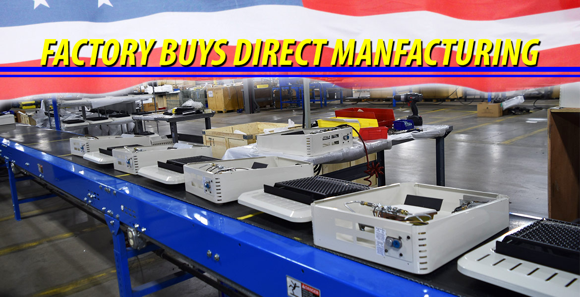 FBD Assembly Line, Gas Space Heaters, Factory Buys Direct