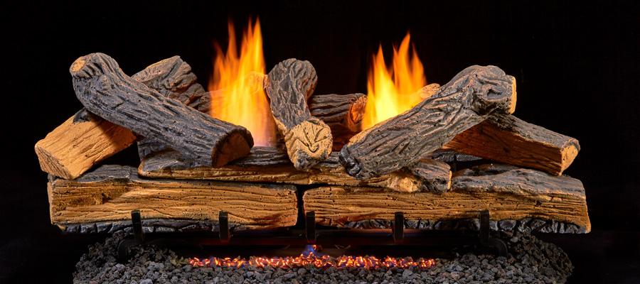 Gas Log Sets Ventless