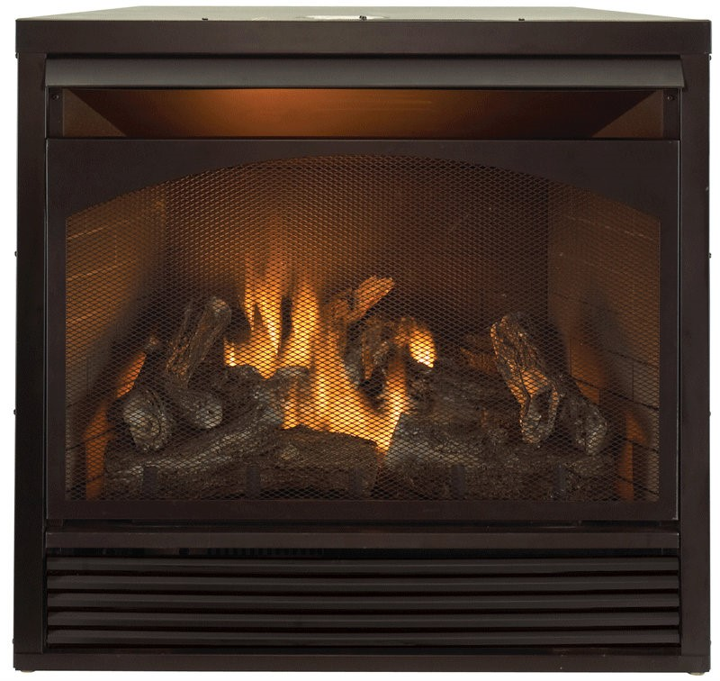 "ProCom 32"" Zero Clearance Fireplace Insert With Remote"
