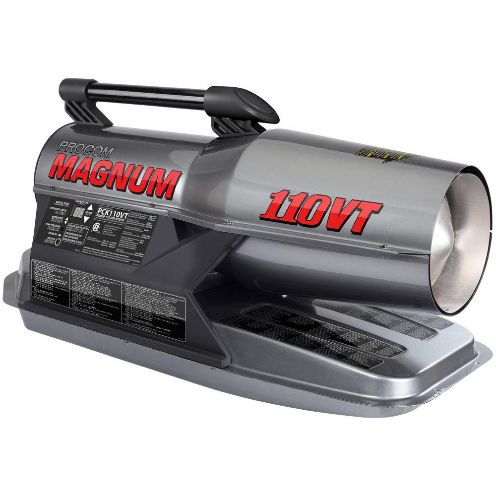 ProCom Recon Kerosene Forced Air Heater - 80,000-110,000 BTU, Multifuel