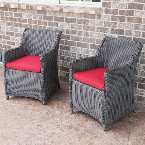 Sea Island Wicker Patio Lounge Chairs are perfect for extra seating
