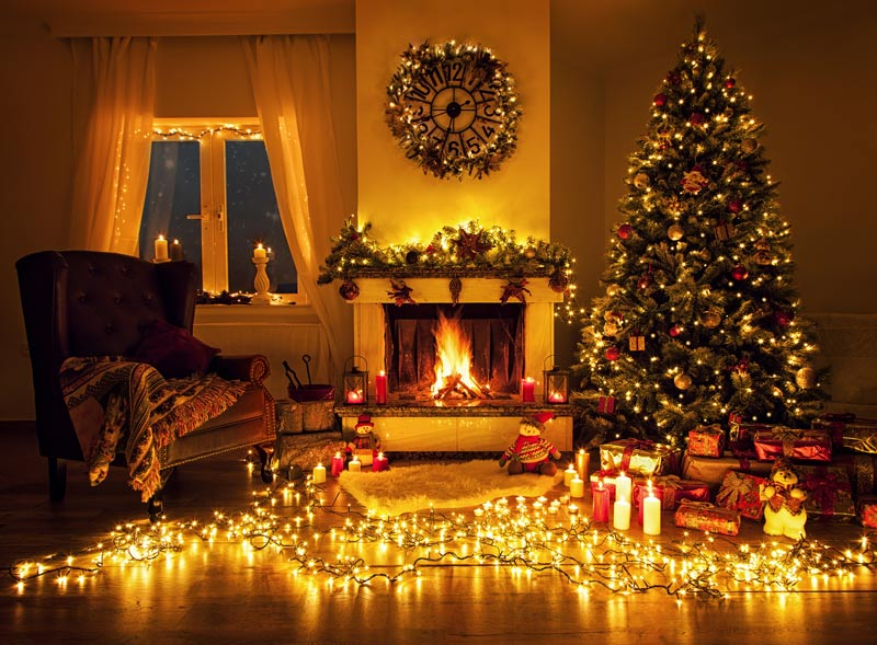 Fireplaces and Christmas