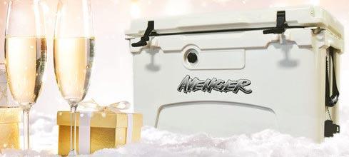 Avenger Hero 45-Quart Cooler - Arctic White