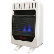 Reconditioned Blue Flame Gas Heater 10,000 BTU-Dual Fuel. Model# BF10M-B-R