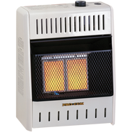 Factory Buys Direct ProCom Reconditioned Natural Gas Vent-Free Plaque Heater - 10,000 BTU, Model# MN100TPA