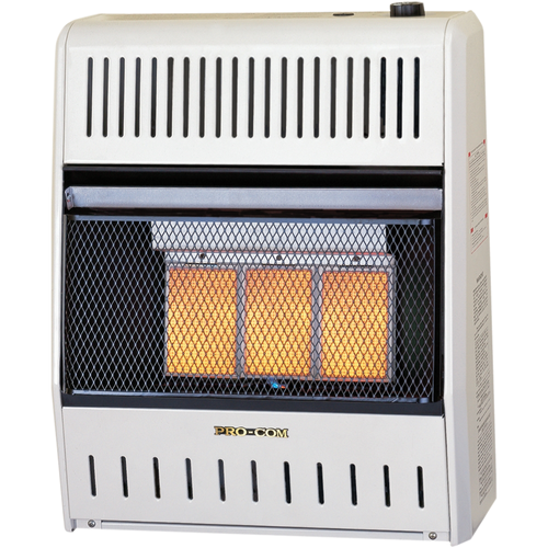 Factory Buys Direct ProCom Reconditioned Liquid Propane Vent-Free Plaque Heater - 15,000 BTU, Model# ML150HPA