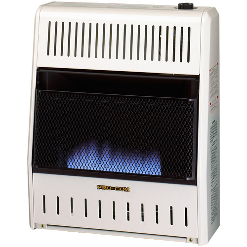 Factory Buys Direct - ProCom Reconditioned Liquid Propane Vent-Free Blue Flame Heater - 20,000 BTU, Model# ML200TBA