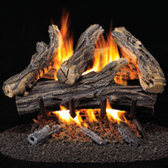 ProCom Vented Natural Gas Fireplace Log Set, #WAN18N-2