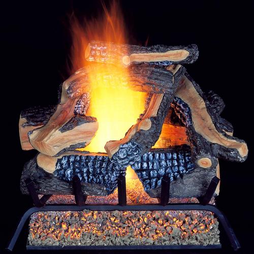 ProCom Vented Natural Gas Fireplace Log Set, #WAN24LA